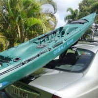 K-RACK loading Ocean Kayak Prowler2