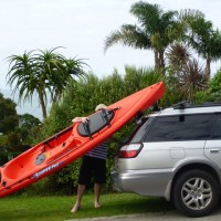 K-Rack loading Ocean Kayak Scupper Pro1