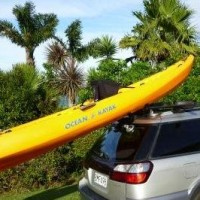 K-Rack loading Ocean Kayak malibu XL3